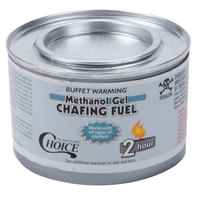 Choice Gel Chafing Fuel Methanol - 2 Hour - 3 / Pack
