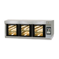 Doyon ES3TP Low Profile Proofer for 3T Artisan Stone Deck Ovens - 9 Pan Capacity