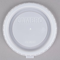 Cambro CLAB8 Disposable Translucent Lid for Aladdin 8 oz. Bowl - 1000 / Case