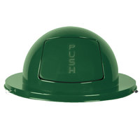 Rubbermaid FG1855 Empire Green Steel Drum Dome Top Lid (FG1855EGN)