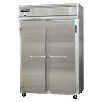 Continental Refrigerator 2F-SS 52 inch Solid Door Reach-In Freezer - 48 cu. ft.