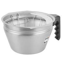 Bunn 32643.0010 Stainless Steel Smart Funnel with D-Ring Basket for BrewWISE Dual Soft Heat and ThermoFresh Coffee Brewers