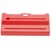 San Jamar STK1006RD Saf-T-Knife Station Jr. Red Lid