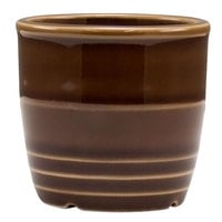 Homer Laughlin 13329392 Bosque Maple 2 5/8 inch Sugar Caddy / Sauce Cup - 36 / Case