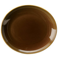 Homer Laughlin 13249392 Bosque Maple 12 inch Oval Platter - 12 / Case