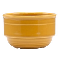 Homer Laughlin 13039518 Bosque Goldenrod 10.5 oz. Stackable Bouillon - 36/Case