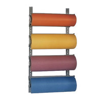 Bulman T293-9 9 inch Horizontal Four Paper Roll Wall Rack
