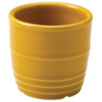 Homer Laughlin 13329518 Bosque Goldenrod 2 5/8 inch Sugar Caddy / Sauce Cup - 36 / Case