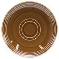 Homer Laughlin 13149392 Bosque Maple 6 1/2 inch Saucer - 36/Case