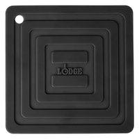 Lodge AS6S11 Black 6 inch x 6 inch Silicone Pot Holder