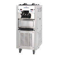 Spaceman 6250 Soft Serve Ice Cream Machine with 2 Hoppers