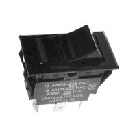 Bunn 03356.1001 On / Off / On Black Rocker Switch for TU3Q Tea Brewers & AFP Autofill Pump Systems