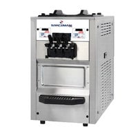 Spaceman 6245 Soft Serve Ice Cream Machine with 2 Hoppers
