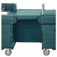 Cambro KMC24192 Granite Green CamKiosk Connector Unit with Front Panel