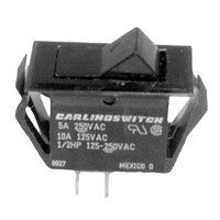 Bunn 37080.0000 Black On / Off Momentary Rocker Switch for TB3 & TB3Q Tea Brewers