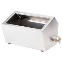 Steril-Sil IUD-3LB Lowboy Three Compartment Insulated Ice-Cooled Condiment Dispenser - 7.5 Qt.