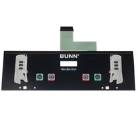 Bunn 34802.0007 Membrane Switch for Dual TF Brewers
