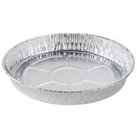 Durable Packaging 1000-30 9 inch Foil Cake Pan - 25 / Pack