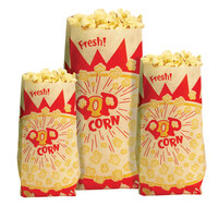 Paragon 1036 2 oz. Jumbo Paper Popcorn Bag - 1000 / Case