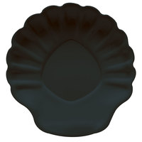 GET SH-5-BK Creative Table 5 inch Black Shell Plate - 24/Case