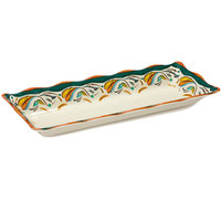GET ML-87-BF Bella Fresco 17 1/2 inch x 6 3/4 inch Tray - 6 / Case