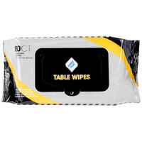 WipesPlus Table Wipes Resealable Refill Pack - 80/Pack