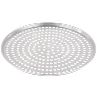 American Metalcraft A2011SP 11 inch x 1/2 inch Super Perforated Standard Weight Aluminum Tapered Pizza Pan