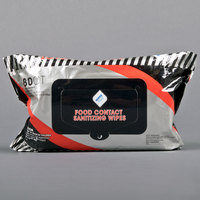 WipesPlus Food Contact Sanitizing Wipes - 12/Case