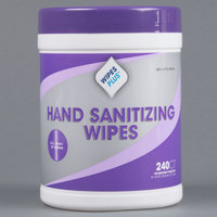 WipesPlus Hand Sanitizing Wipes - 240 / Canister