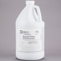1 Gallon Noble Chemical Bacti-Free Third Sink Sanitizer - Ecolab® 17708 Alternative