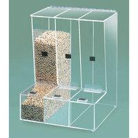 Cal Mil 946 Multi-Bin Bulk Food Dispenser 13 inch x 12 inch x 16 1/2 inch