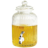 1.4 Gallon Springfield Glass Beverage Dispenser