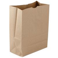 76 lb. 1/6 Brown Paper Barrel Sack Bag 400 / Bundle