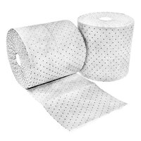 Spilfyter Z-91 Oil Only White Heavy Weight Absorbent Roll - 16 inch x 150' - 2 / Case