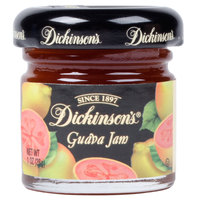 Dickinson's Guava Jam - (72) 1 oz. Glass Jars / Case