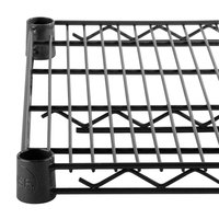 Regency 14 inch x 36 inch NSF Black Epoxy Wire Shelf