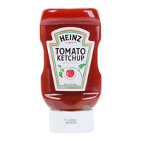 Heinz Ketchup 14 oz. Upside Down Squeeze Bottle - 16/Case