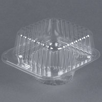 Par-Pak 2409 1 Compartment Clear Muffin Takeout Container - 400 / Case