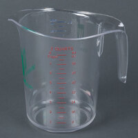 Choice 2 qt. Clear Polycarbonate Measuring Cup