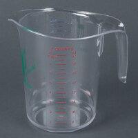 Choice 2 qt. Clear Polycarbonate Measuring Cup