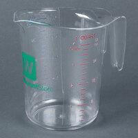 Choice 1 Quart Clear Polycarbonate Measuring Cup