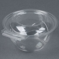Par-Pak 5HGR016-TV Clear Tamper-Visible 16 oz. Round Container - 210 / Case