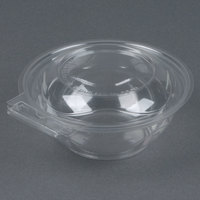 Par-Pak 5HGR012-TV Clear Tamper-Visible 12 oz. Round Container - 225/Case