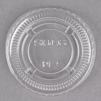 Dart Solo PL1N Small Clear Lid for Souffle / Portion Container - 2500 / Case