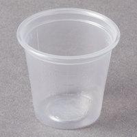 Dart Solo Conex Complements 125PCG 1.25 oz. Translucent Plastic Graduated Medicine Cup - 125/Pack