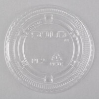 Dart Solo PL2N Medium Clear Lid for Souffle / Portion Container - 100/Pack