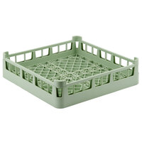 Vollrath 52696 Signature Full-Size Light Green 4 7/8 inch Short Extended Open Rack