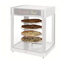 Hatco FSDT5TCR 5-Tier Circle Rack With Pizza Pan Retainers for FSDT Holding and Display Cabinets