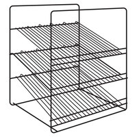 Hatco FSDT3SAR 3-Shelf Angle Display Rack for FSDT Holding and Display Cabinets