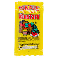 Piknik Yellow Mustard - (500) 5.5 Gram Portion Packets / Case